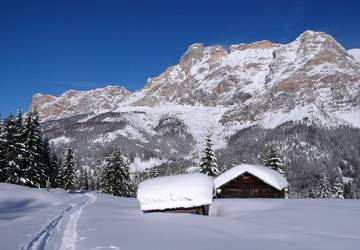 Val Badia Winter